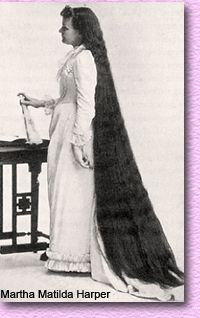 Late 1800's  That is a lot of hair.  During the day she had to pin that up.  Must have taken an hour to do it.