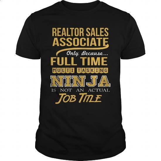 REALTOR SALES ASSOCIATE - NINJA GOLD - #sleeveless hoodie #white hoodies. SIMILAR ITEMS => https://www.sunfrog.com/LifeStyle/REALTOR-SALES-ASSOCIATE--NINJA-GOLD-Black-Guys.html?60505