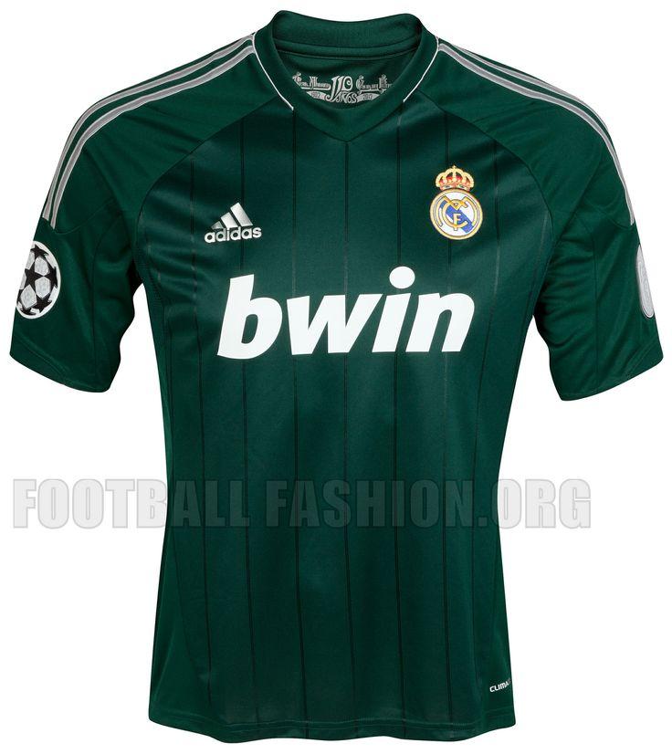 Real Madrid adidas 2012/13 Third Kit