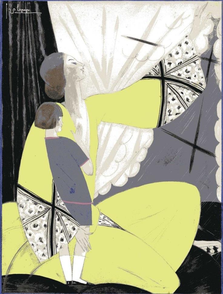 Cover Design, Vogue UK, 1922