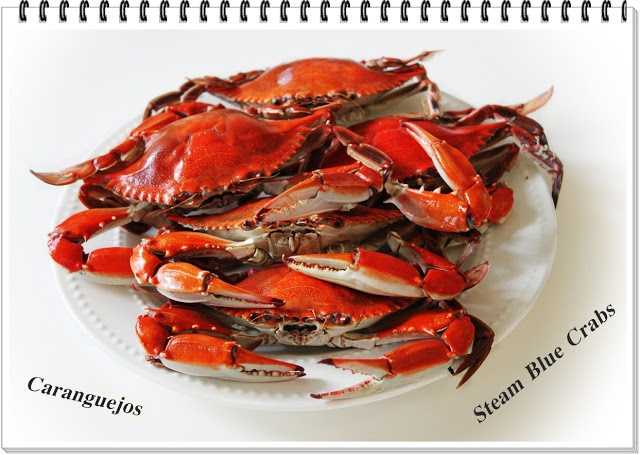 Caranguejos - Steam Blue Crabs | Receitas e Sabores do Mundo