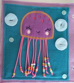 Jellyfish Counting Custom Quiet Book Page - Build a Personalized Busy Book Quiet…