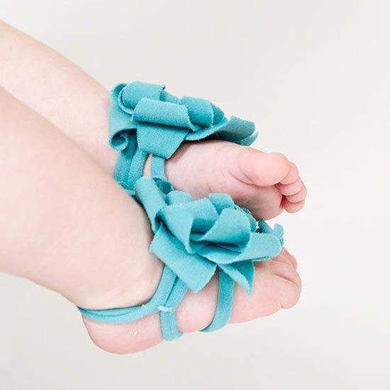 Baby Barefoot Sandals - super adorable (dyi kit)