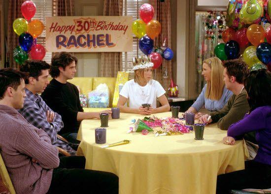 Que fique bem claro: eu não me comparo de maneira alguma à Rachel Green ou Jennifer Aniston; apenas adoro esse episódio de 'Friends'  Foto: Reprodução