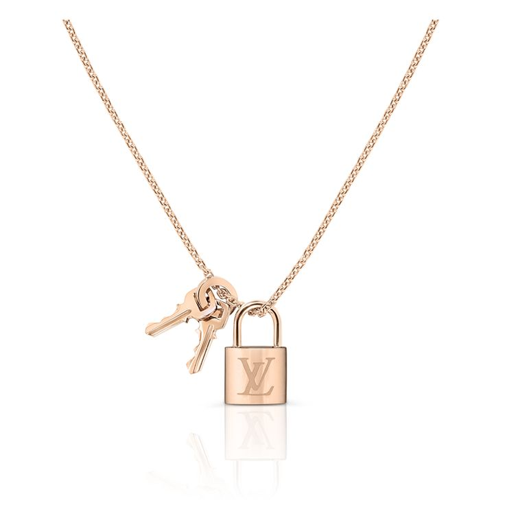 Louis Vuitton's new fine jewlerry collection. Love the padlock!