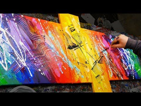 HOW to make an AMAZING abstract picture with very bright colors | Sexamental | John Beckley – YouTube