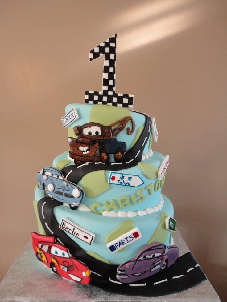 14 Best Images About Cars 2 Cake Inspiration And Ideas On