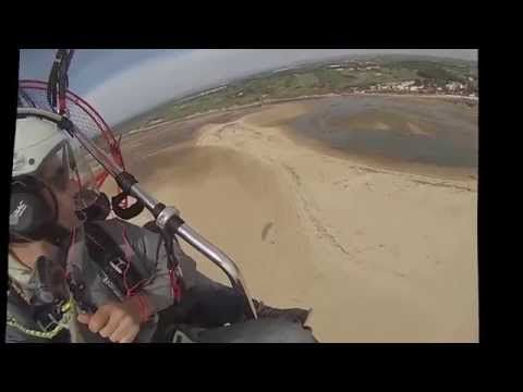 "#SkyXpediton #RiaFormosa #Paratrike  A Glimpse of what you can See, taking off from our summer base in Santa Luzia, Tavira- Portugal.  Be delighted by the view from the South, and the music from US3- ""Cantaloop"": AMAZING!!!! :)"