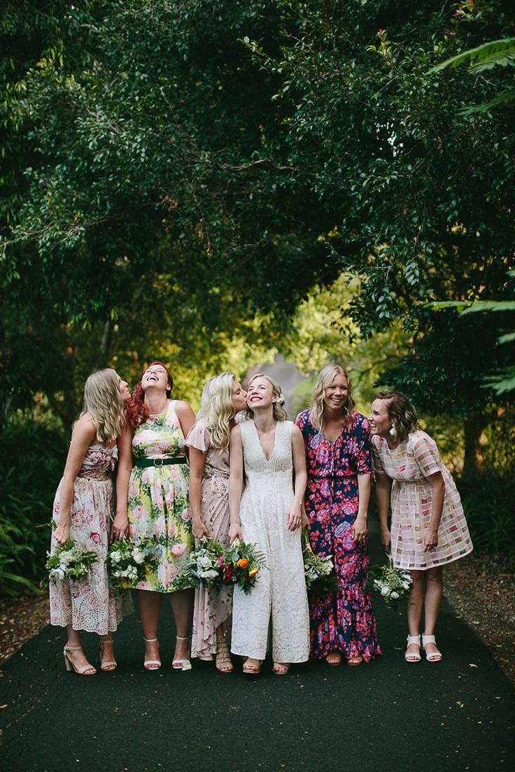 gorge mismatched bridesmaid dresses