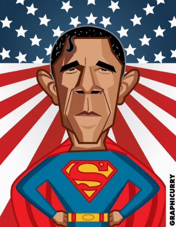 Barack Obama super-héros : Superman