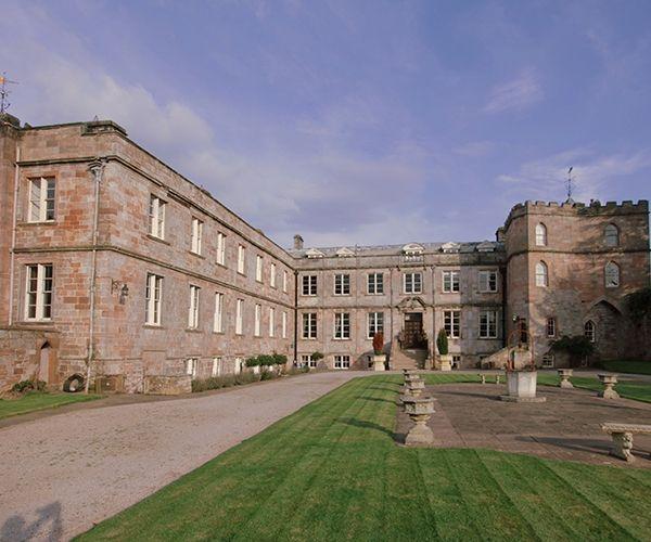 Cumbria castle wedding