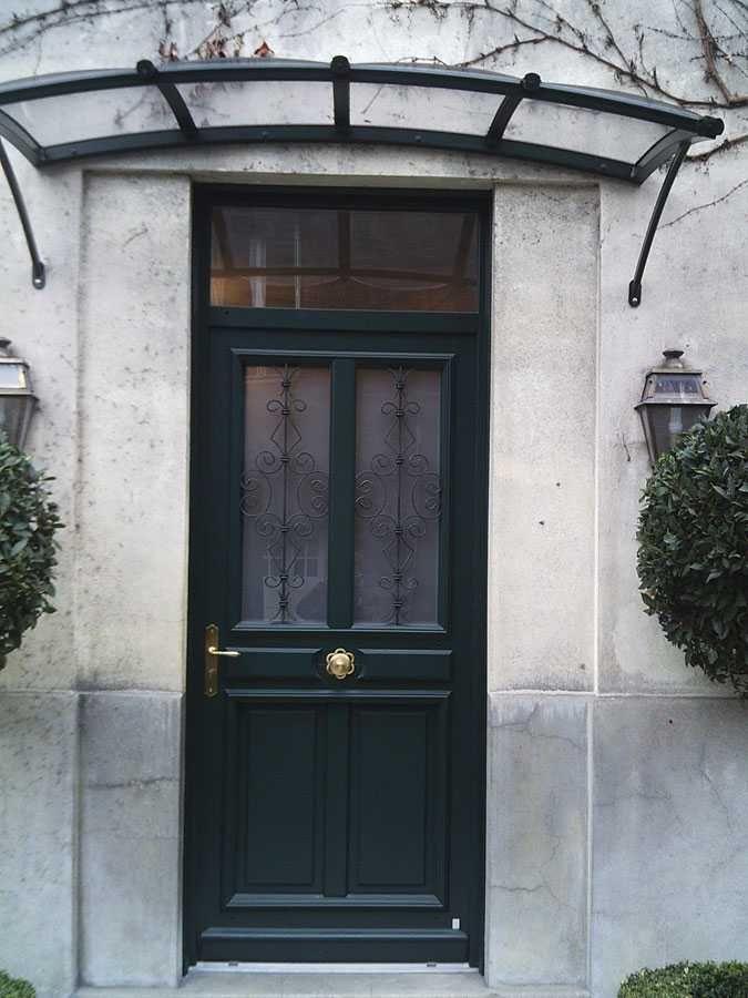 Marquise Porte D Entree Maison Design Apsip Porte Entree Maison Deco Moderne Salon Portes