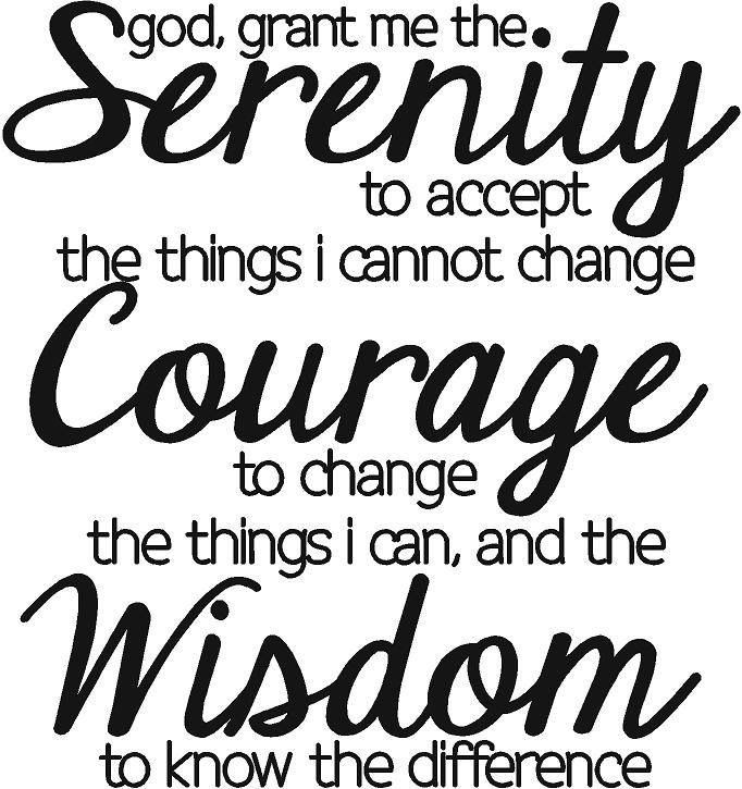 16 Best Images About Tattoos Celebrating Recovery On: 19 Best Recovery: Serenity Prayer Images On Pinterest