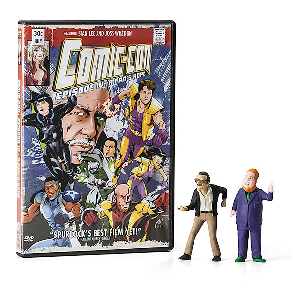 Comic Con DVD, Limited Edition with Stan Lee and Harry Knowles