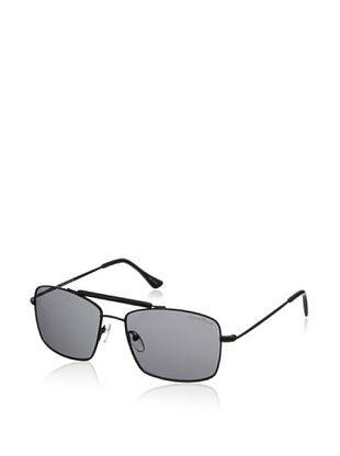 60% OFF Cole Haan Men's C7051 10 Rectangular Sunglasses (Black)