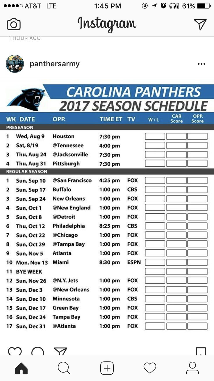 38 best NFL Football Schedule 2017 images on Pinterest ...