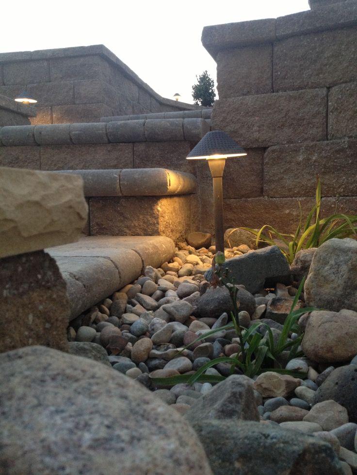 Low voltage lighting27 best Outdoor Lighting Ideas images on Pinterest   Lighting  . Low Voltage Outdoor Wall Lighting. Home Design Ideas