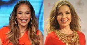 Jennifer Lopez e Thalía disputam papel de Gloria Estefan em musical - Jennifer Lopez e Thalía estariam concorrendo de igual para igual para interpretar Gloria Estefan em um musical da Broadway
