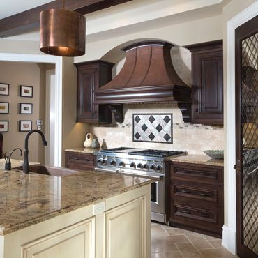 Rustic kitchen design is all about bringing the outside inside. You do that with the use of authentic materials and a connection to the people who are building it.