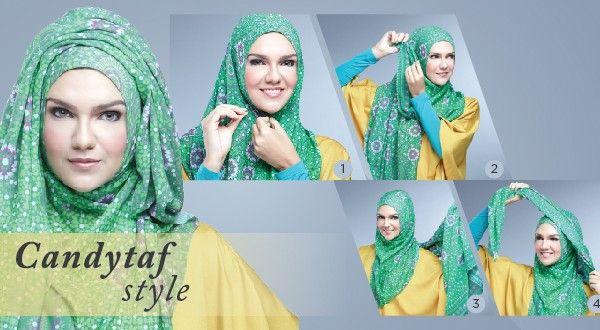 Cara Memakai Pashmina Modern, Candytaf Style by Zoya | Zoya - Lebih Pas untuk Cantikmu