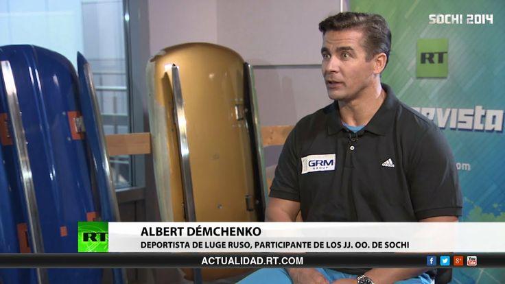 Entrevista con Albert Démchenko, deportista de luge ruso