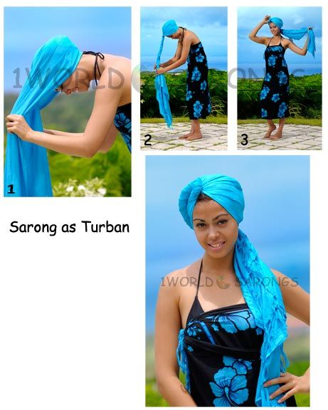 1000+ images about How to Tie A Sarong? on Pinterest ...