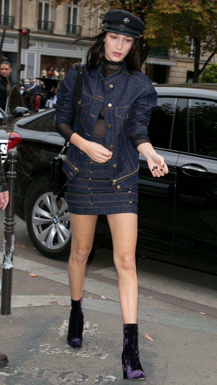 #celebrities #streetlook Bella Hadid   What cold front?