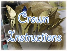 How to make Princess Zelda Armor : Crown » Firefly Path