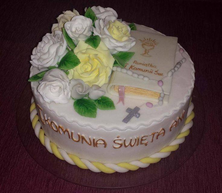 Tort I Komunia Święta/ 1st Communion cake