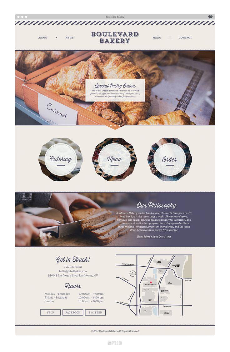 Noirve   New Work: Boulevard Bakery