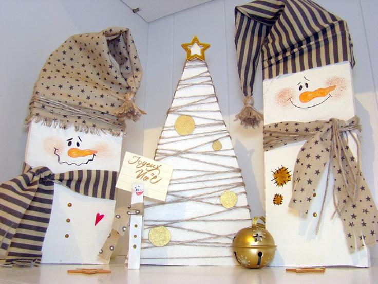 17 meilleures id es propos de bonhommes de neige en bois sur pinterest d - Bricolage avec palette ...