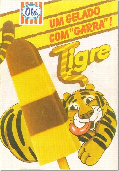 gelado olá tigre
