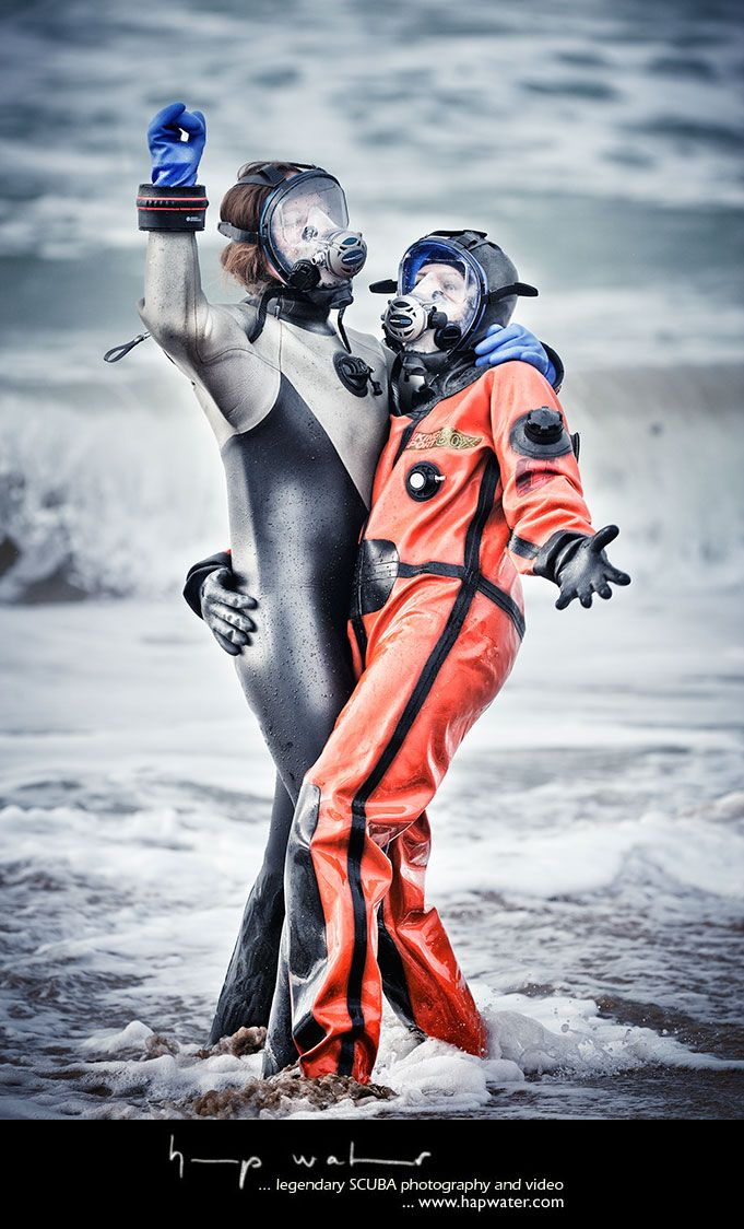 Pin by De Proxor on Diving woman, wetsuit, drysuit and ...