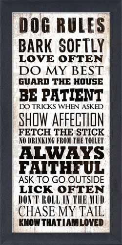 Dog Rules: Cat Rules, Art Prints, Humor Signs, Dogs Rules, Dogs Know, Dogs Houses Outside, Signs For Best Friends, Frames Art, Outside Dogs Houses