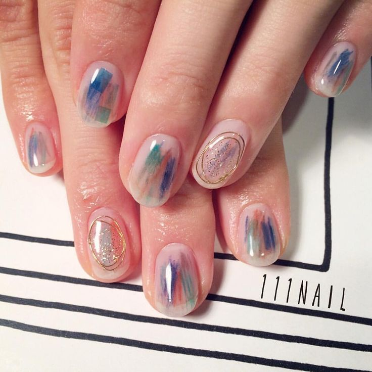 these nails are pretty coool.