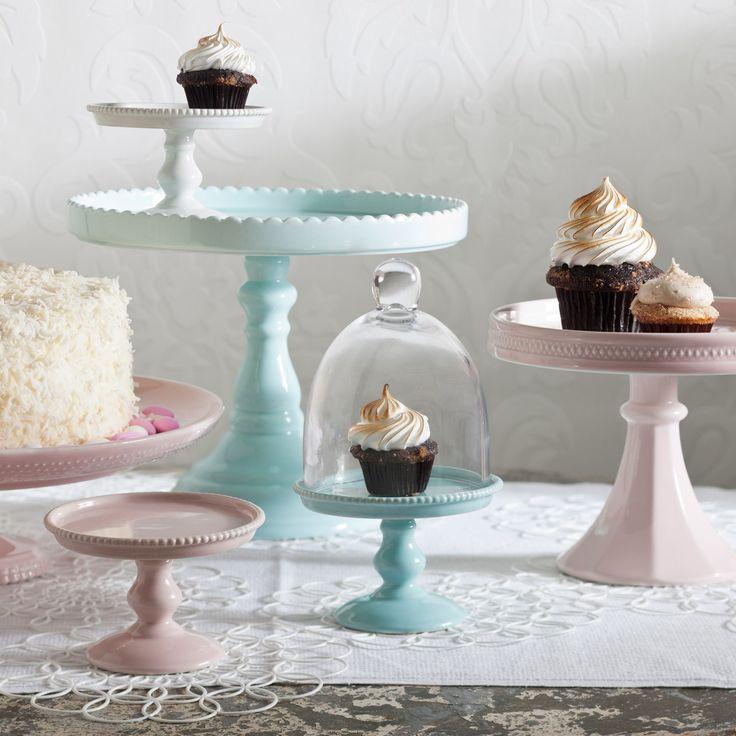 Rosanna Decor Bon Bon Hue Pink Small Beaded Pedestal from @Sarah Nasafi Grayce #laylagrayce #tabletop