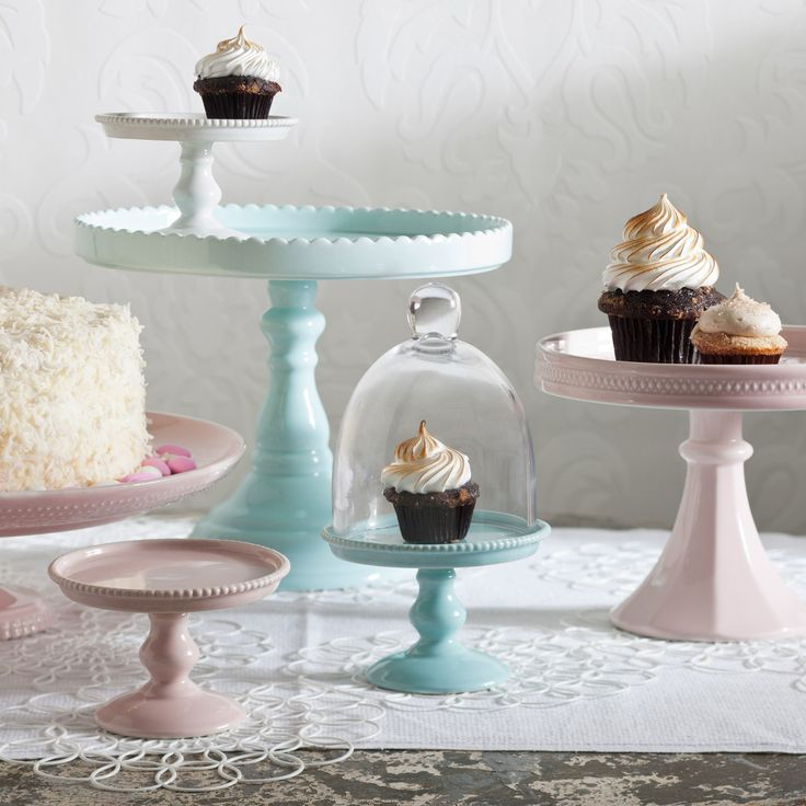 Rosanna Decor Bon Bon Hue Pink Small Beaded Pedestal from @Layla Grayce #laylagrayce #tabletop