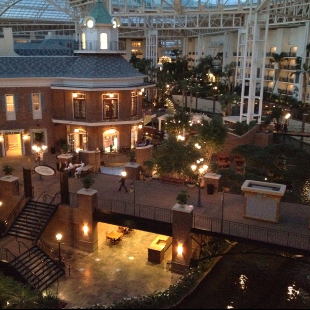 The Gaylord Opryland Hotel in Nashville, TN!!!
