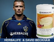 David Beckham promoting Herbalife!  Contact me for more informaiton.