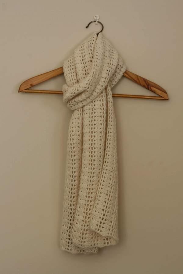 claudia scarf crochet pattern