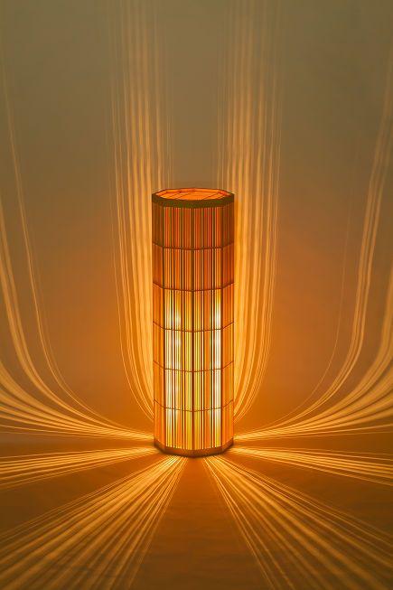 Lamp / 瀧(たき) 組子灯り 組子細工