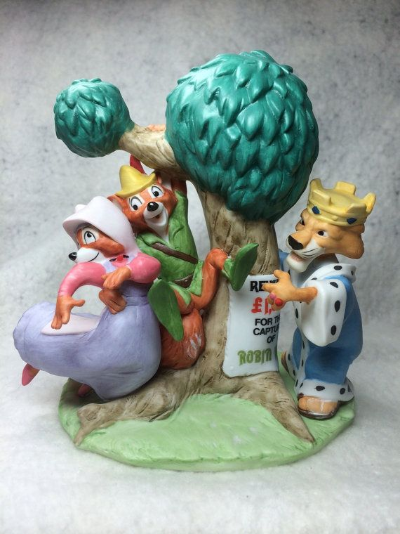 "The Disney Collection, Grolier, Magic Memories ""Robin Hood"" Original Figurine Designed By The Walt Disney Artists, Mint on Etsy, $39.95"