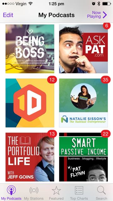 Podcasts for bloggers, social media lovers and solo business people