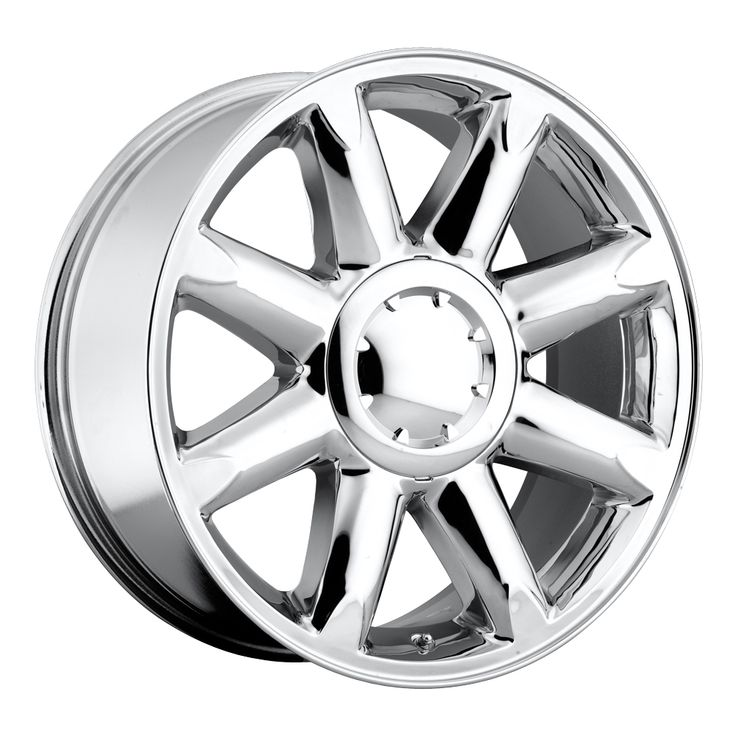 Gmc Yukon 2007-2012 20x8.5 6x5.5  13 - Denali Wheel - Chrome With Cap