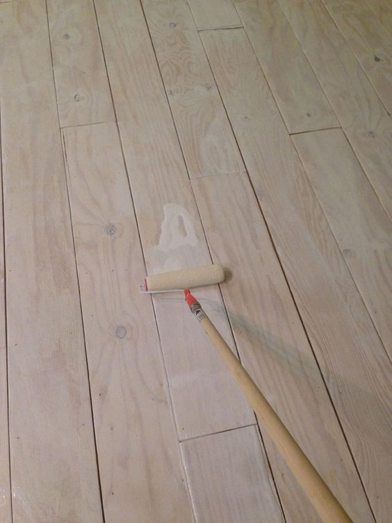 Diy Wide Plank Floors Made From Plywood Wide Plank
