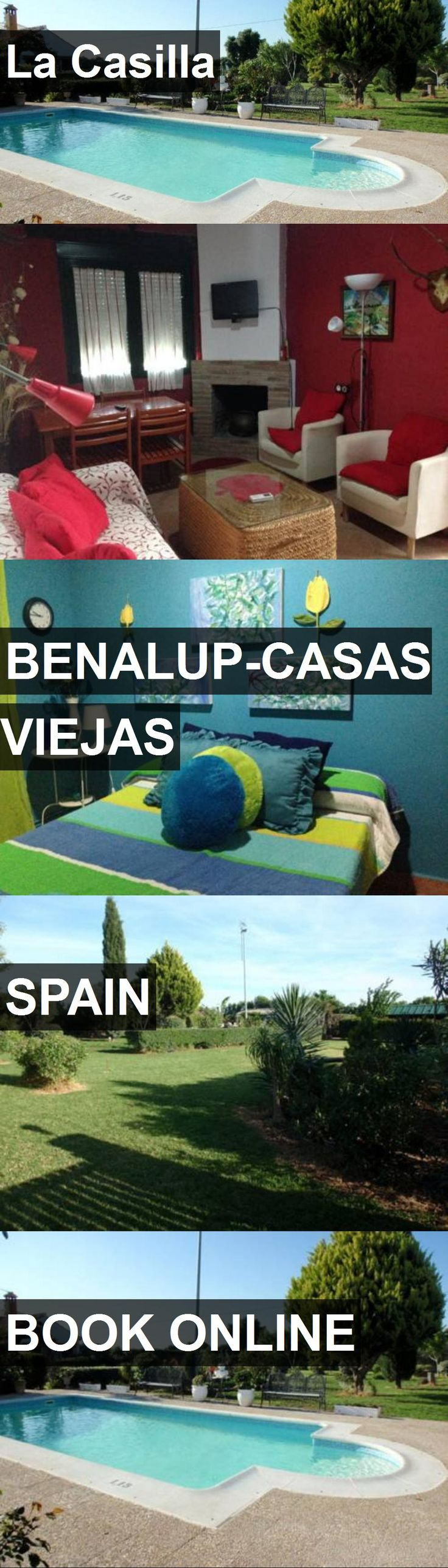 Hotel La Casilla in Benalup-Casas Viejas, Spain. For more information, photos, reviews and best prices please follow the link. #Spain #Benalup-CasasViejas #travel #vacation #hotel
