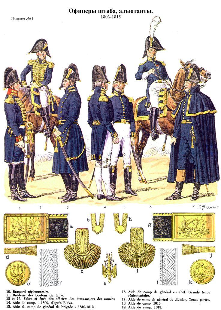 Etat-major et aides de camp 1803-1815 (pl 81) 1