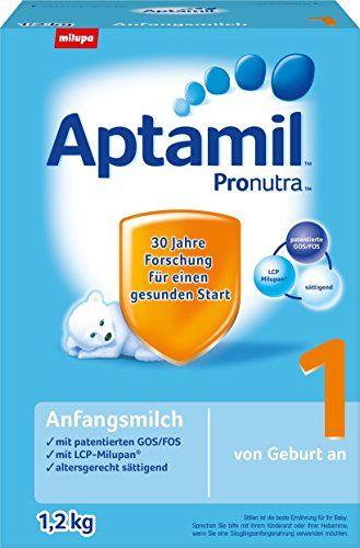 Aptamil Pronutra 1 Anfangsmilch, von Geburt an, 3er Pack (3 x 1.2 kg)