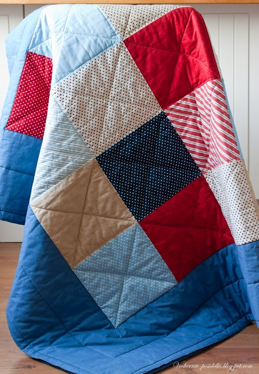 Now this is a beginner quilt!