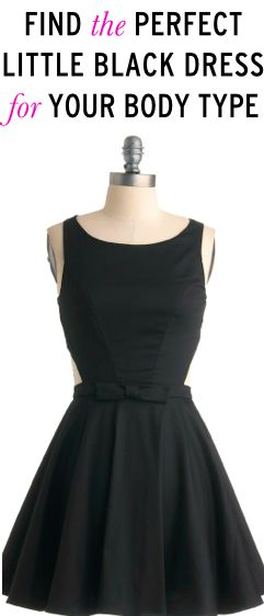 10 party perfect little black dresses for any body type -- love #4 & 10